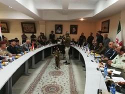 نشست مشترک هیئت اعزامی از کشور عراق با طرفین ایرانی در مرز خسروی