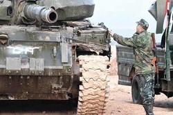 ارتش سوریه تروریست های داعش را در شهر «المیادین» محاصره کرد