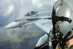 جنگنده ائتلاف آمریکا در سوریه