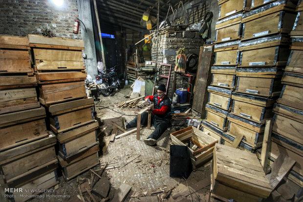کارگاه ساخت کندو.آزادشهر