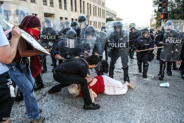 تظاهرات در سنت لوئیس آمریکا