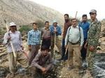 نبرد فعالان محیط زیست با آتش در جنگلهای ایران