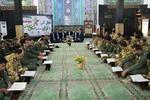 محفل انس با قرآن کریم در پایگاه هوانیروز کرمانشاه برگزار شد