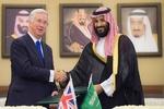 امضای توافق نامه همکاری نظامی عربستان و انگلیس