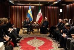 روحاني:   مرحلة جديدة من العلاقات بدأت بين طهران واستكهولم