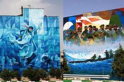 دیوارنگاری با موضوع شهدا/ مجسمه شهدای شاخص در تهران نصب میشود