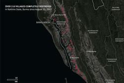 Myanmar Müslümanlarına ait 214 köy tamamen tahrip edildi