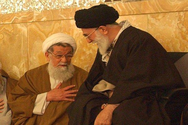 قائد الثورة ينعى وفاة حجة الإسلام معصومي