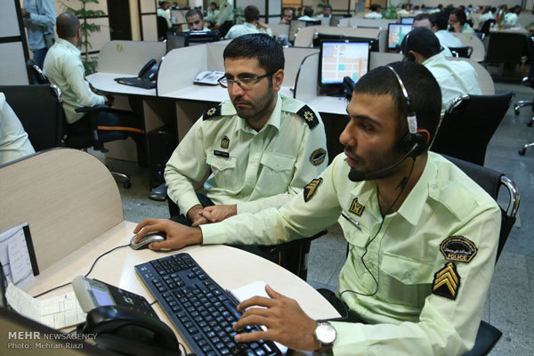 مرکز فوریت های پلیسی ۱۱۰، نخستین پل ارتباطی مردم با پلیس است