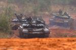 Rusya'nın askeri tatbikatından kareler