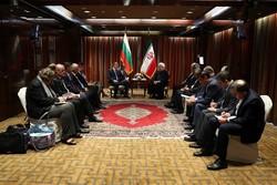 روحانی و رئیس جمهور بلغارستان