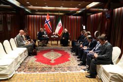 روحانی و نخست وزیر نروژ