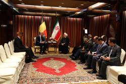 روحانی و نخست وزیر بلژیک