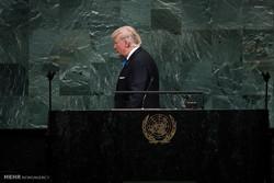 سخنرانی ترامپ در سازمان ملل