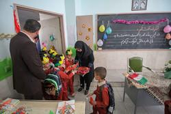 جشن شکوفههای حسینی با ۱۱ هزار کلاس اولی در استان سمنان برگزار شد