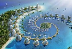 طرح جذاب مرکز تفریحی فیلیپین با برج های چرخان محیط زیستی