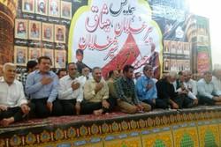 دومین همایش پیرغلامان حسینی در آبدان برگزار شد