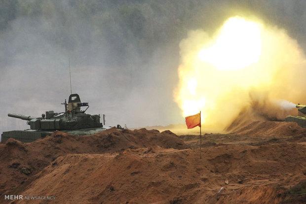 China-Russia joint anti-terrorism drill underway