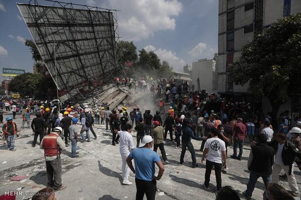 عملیات نجات بعد از زلزله مکزیک