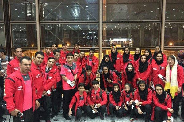 Junior athletes land 3rd in Asian Wushu C'ships