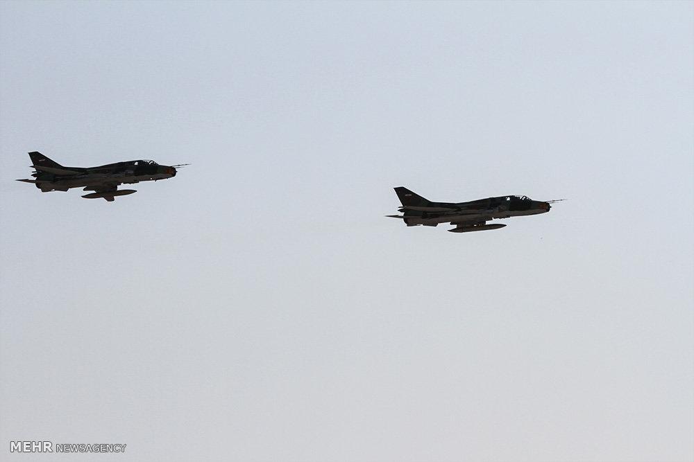 مانور تمرینی نیروی هوایی در بندرعباس
