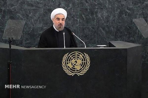 Rouhani calls Trump UN speech hateful, absurd