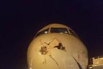 برخورد پرنده با دماغه هواپیمای تفلیس- تهران/کسی آسیب ندید