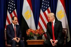 رایزنی «ترامپ» و «السیسی» درباره تحولات خاورمیانه