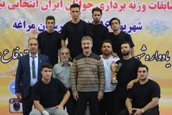 قهرمانی خوزستان در مسابقات وزنه برداری جوانان کشوری مراغه