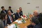 دیدار ظریف با وزیر امور خارجه چین