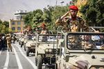 رژه نیرو های مسلح در همدان / رضا زنگنه
