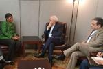 ظریف با دادستان دیوان کیفری بین المللی دیدار کرد