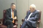 رئیس صلیب سرخ جهانی و ظریف دیدار و گفتگو کردند