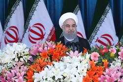روحاني : لن نستأذن احدا في الدفاع عن اراضينا