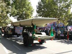 رژه نیروهای مسلح کرمانشاه