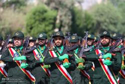 رژه حماسی نیروهای مسلح در اهواز