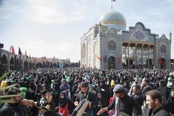 همایش شیرخوارگان حسینی در قزوین برگزار شد