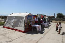 استقرار کاروان سلامت در مناطق زلزله زده/ حضور تیم های پزشکی