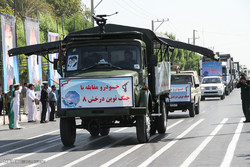 رژه نیرو های مسلح در بندرعباس / رهبر امامدادی