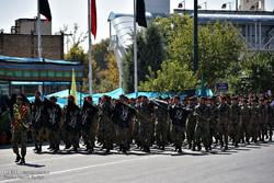 رژه نیرو های مسلح در مشهد / رامین صفاری