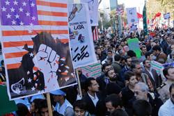 تضاهران ضد امریکا