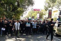 راهپیمایی تبریز