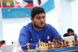 مقصودلو متحمل دومین شکست در مسابقات شطرنج سیگمان سوئد شد