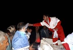 سیل و آبگرفتگی در اردبیل و گلستان/ اسکان اضطراری حادثهدیدگان