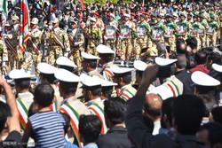 رژه نیرو های مسلح در شهرضا / محمد مهدی ملکی
