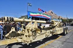 برگزاری رژه نیروهای مسلح در یاسوج