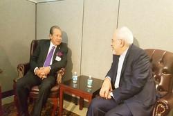 الوضع المأساوي للشعب اليمني وميانمار؛ محور محادثات ظريف ونظيره الماليزي