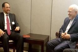 وزير الخارجية الإيراني يلتقي نظيره الأفغاني