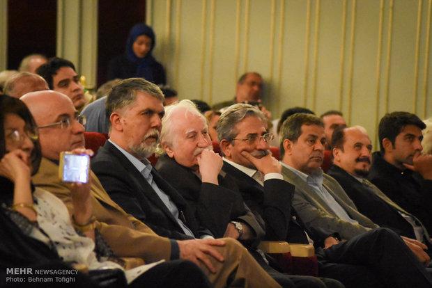 Farshchian's works unveiled in Tehran