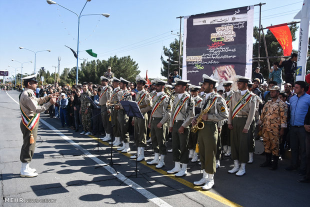 Armed Forces nationwide military parades